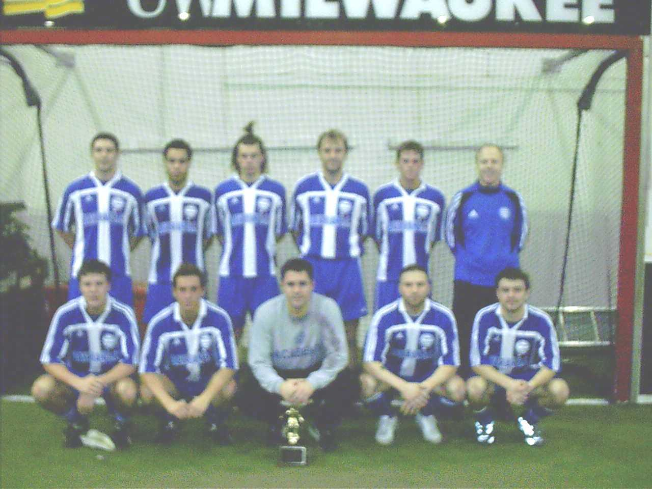 2005 Men's Indoor League Champions